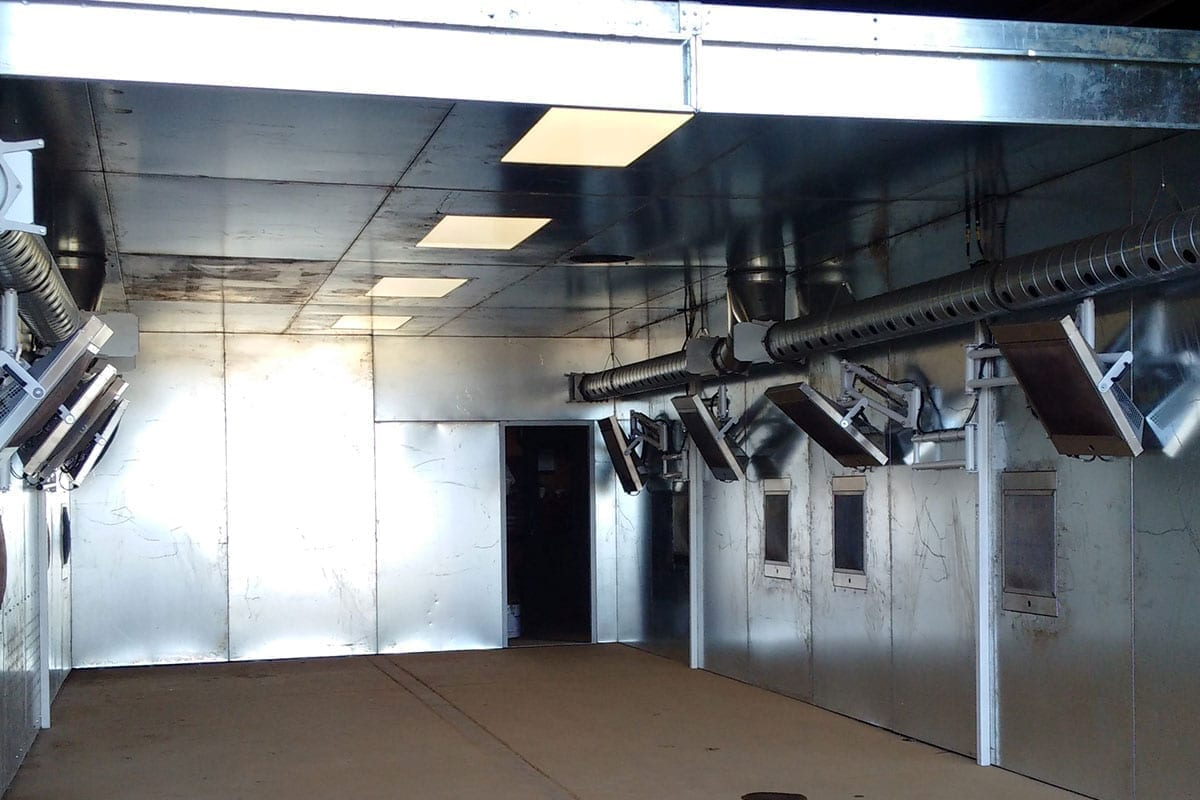 Sun-Spot Catalytic Paint Drying System   Paint Shop Gallery
